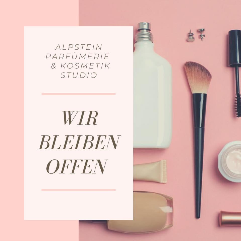 Gerne informieren wir Sie darüber, dass unsere Parfümerie und unser Kosmetikstudio weiterhin für Sie geöffnet sind!